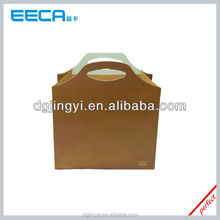 Custom Brown kraft Paper shopping bag packaging paper Shopping Bag made in China