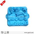melhor silicone bakeware bolo de natal decorationg engraçado personalizado de silicone cozer o molde
