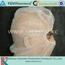 Disposable hot sale balaclava hood with open eyes