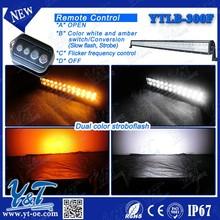 51.5 300w Output RGB wireless remote control strobe lighting fit car flash led light bar