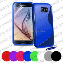 For Samsung Galaxy S6 SM-G920F / S6 edge SM-G925F S-line TPU Gel Soft Case Cover bags