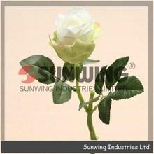 Decoração de casamento artificial flores de hibisco bush