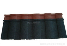 Popular in SK Roof Products- colorful stone chip coated metal roofing tile manufacture