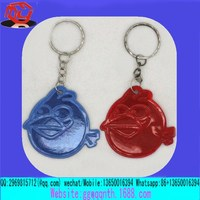 ICTI certificated custom made vinyl smile face toy keychain manufacturers