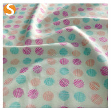 FDY 97 Polyester 3 Spandex Printed Fabric For Woman Dresses