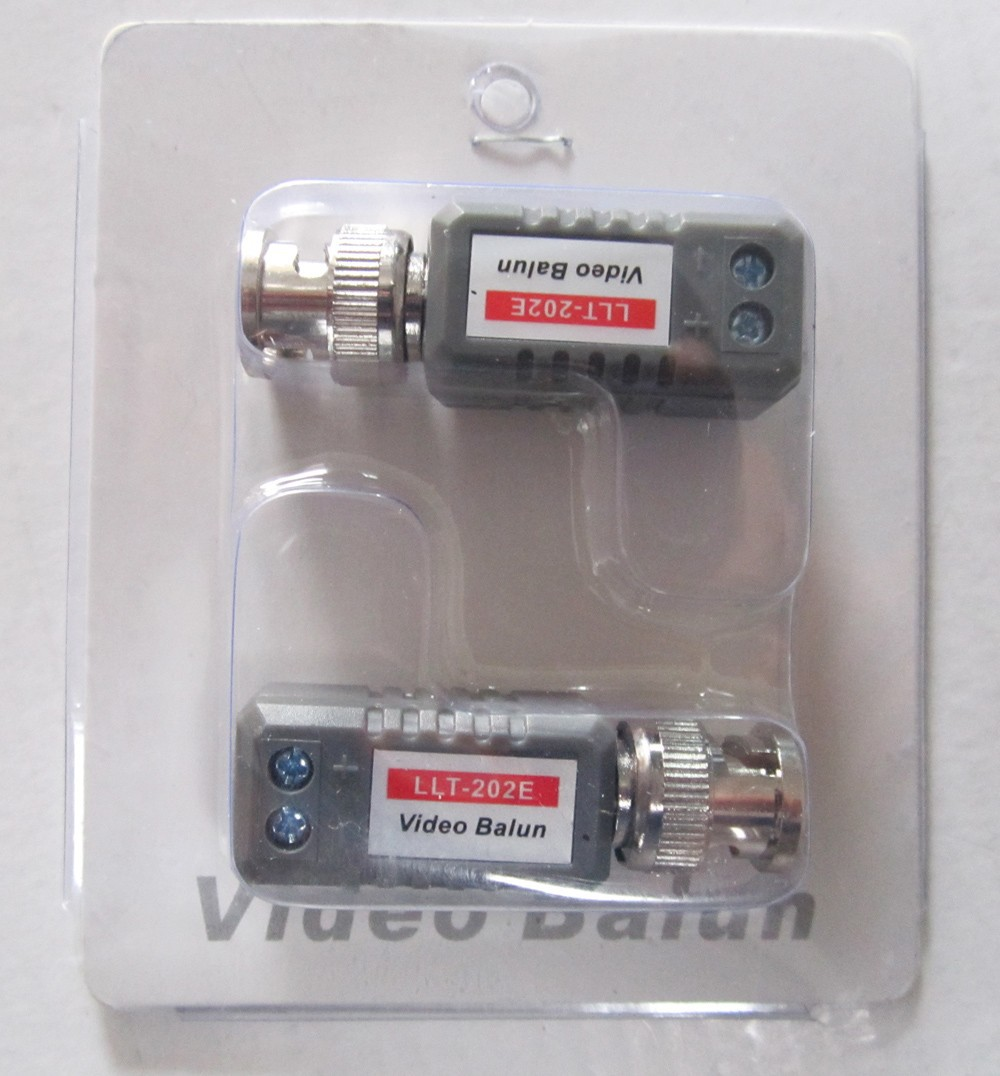 Twisted Pair Transmitter Video Balun CCTV Camera Video CAT5 Transceiver Freeshipping