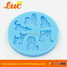 Cheap antique car/ bicycle/bus silicone chocolate/fondant mold