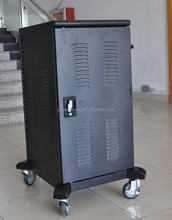 Customized multimedia teaching euipment tablet IPAD storage and charging cart