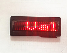 12v 7*21 Pixel led car advertising sign with scrolling message