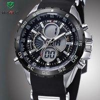 2015 Newest WEIDE Relogio Masculino Men Sports Watch Analog Digital Display 3ATM Waterproof Japan Quartz Military Watches