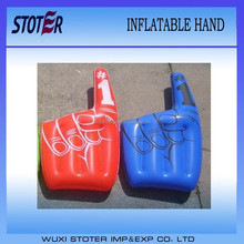 PVC Inflatable one finger cheering hand