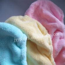 100%polyester/80%polyester+20%polyamide microfiber hair wrap towels