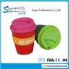 New Novelty Reusable and Insulated Plastic PP Coffee Cup