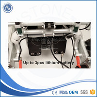 Foldable Lightweight Electric Wheel chair Suitable for Disabled People with Top Quality Charge