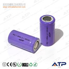 hot 900mah 18350 battery / 18350 3.7v 900mah li-ion battery for e-cigarette