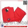 Taekwondo Uniforms Ribbed 7.5oz Adult and Kids dobok taekwondo vermelho