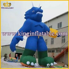 Giant Blue Inflatable Cartoon, Inflatable Monster Model Character