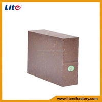 Factory Supply High Quality Refractory Alumina Magnesia Spinel Brick for Glass Furnace for Cement Kiln