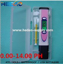 Fast delivery cheap price pen type waterproof digital ph meter for lab or outdoor detection