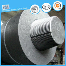 Good electric conductivity HP graphite electrode for smelting iron