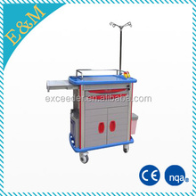 EM-CT002 medical trolley with drawers furniture moving trolleys toy medical trolley