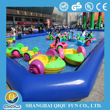 New style Swim pool hand cranking paddle boat , electric paddle boat for water play