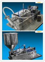 Semi automatic small scale bottle filling machine