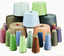100% Polyester Yarn/Aty Polyester Yarn/Polyester Sewing Thread Raw White Color