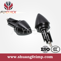 SFDZ-008 Flyquick Universal high quality cnc Handle Grips Plug CNC Motorcycle Handlebar End caps from china manufacturer