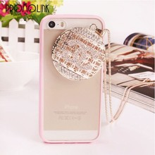 luxury unique tower brand logo design necklace case for iphone 4/4s/5/5s