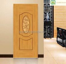YMP-0001 3mm plywood door engineer use,Popular style plywood doors design