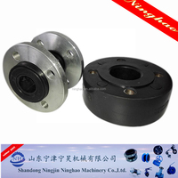 oil resistant/epdm/pn16/galvanized single bellow rubber expansion joints
