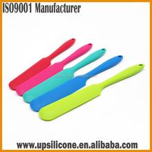 Silicone Chef Bread Cake Knife Spatula mini Straight Silicon Spatula cake icing spatula