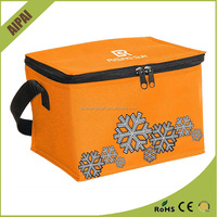 Wholesale Outdoor non woven COOLER BAG insulated cooler lunch cooling bag