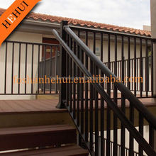 HH-525 aluminum poor and good quality house used aluminum balcony railing for swimming pool glass fence