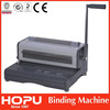 electric spiral book binding machine with roller