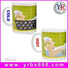 Hot sexy girl color changing magical mugs