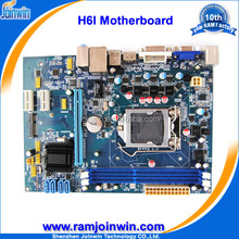Dual channel 1333 1066 800 memory ddr3 h61 motherboard, mini itx motherboard, desktop motherboard