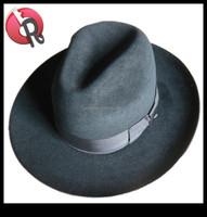mens pure wool felt rabbit fur felt soft jewish hat