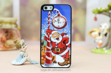 2015 China New Case Wholesale Best Christmas gift case for iphone 5 6 6s Print hard pc back case covering for iphone 6 plus