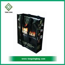 Cool printing reusable laminated pp woven bag