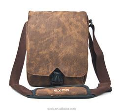 EXCO canvas wear-resisting shock adsorption nylon computer tablet messenger bag for iPad