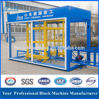 the best selling in 2015 price list of concrete block making machine output stone powder brick using sand as the raw material