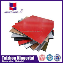 Alucoworld selected architectural acp color chart