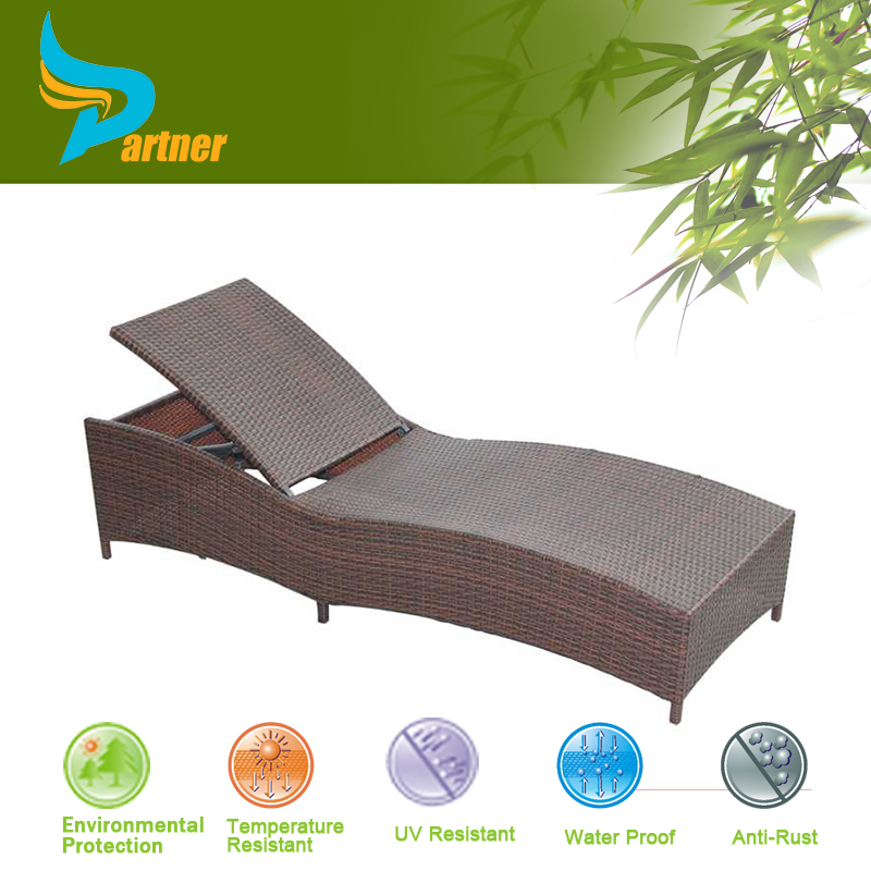 Waterproof wrought iron furniture sun beds baroque for Baroque chaise lounge sofa