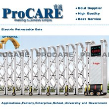 Innovative designed SMS and Phone calling automatic folding gate