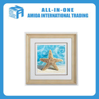Blue ocean hanging wall painting, starfish scenery adornment mural