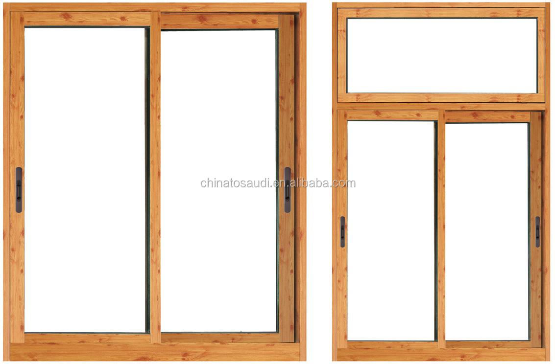 Durable modern latest window design durable pvc house for Sliding window design for home