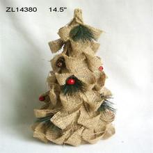 14.5 inch mini christmas tree decoration
