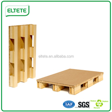 China papel reciclado Pallet on sale caliente reemplazar de palets de madera